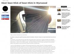 Sean Mick Voyage Miami